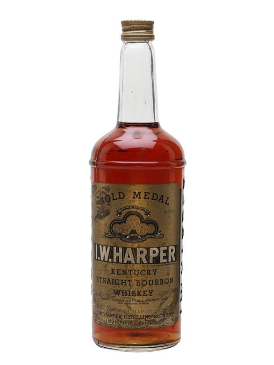 I W Harper Gold Label / Bot.1970s Kentucky Straight Bourbon Whiskey