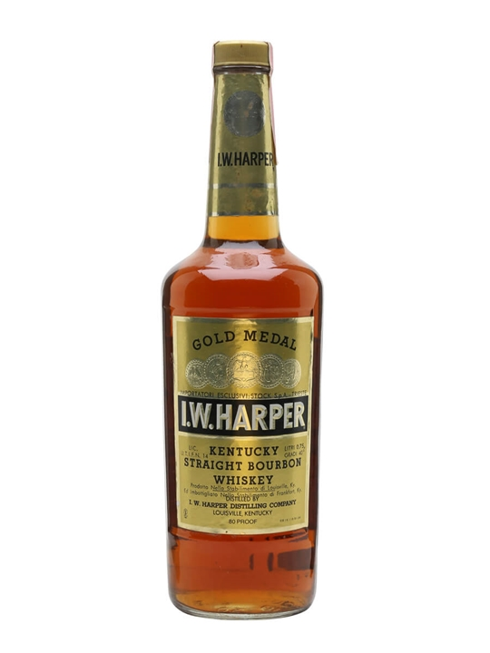 I W Harper Gold Medal / Bot.1980s Kentucky Straight Bourbon Whiskey