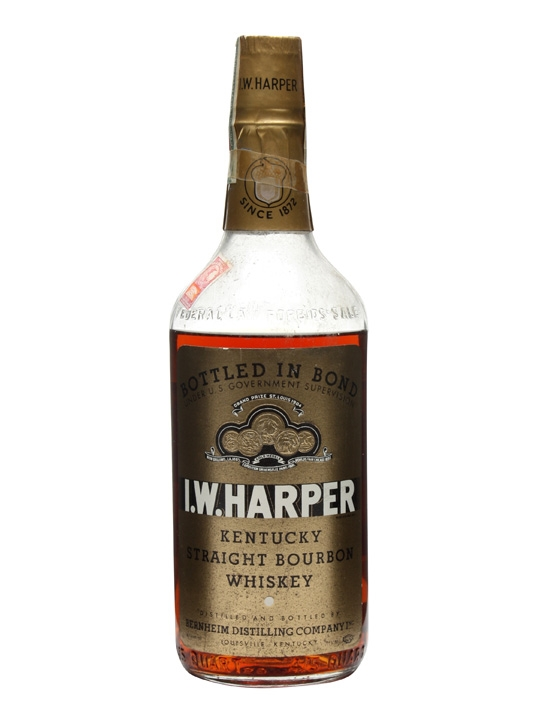 I W Harper 5 Year Old / Bot.1943 Kentucky Straight Bourbon Whiskey