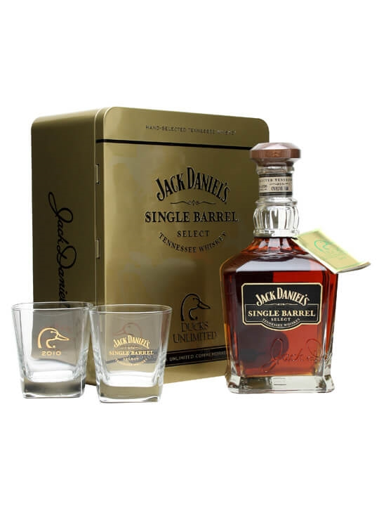 Jack Daniel's Single Barrel Ducks Unlimited 2010 Tennessee Whiskey