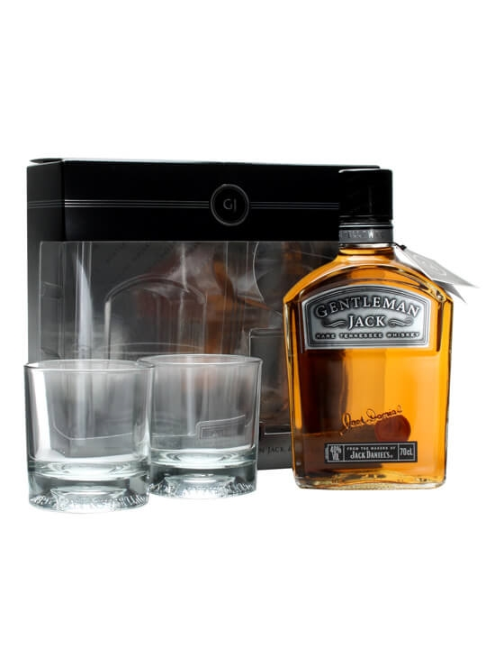 Jack Daniel's Gentleman Jack / Two Glass Pack Tennessee Whiskey
