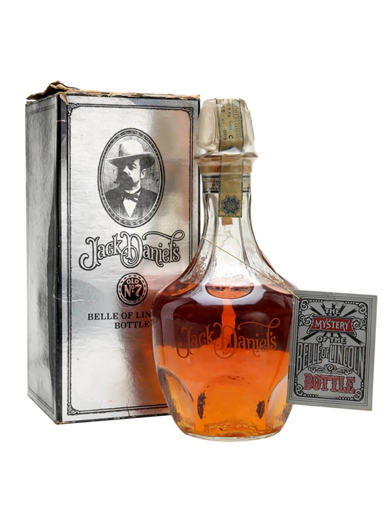 Jack Daniel's Belle Of Lincoln Tennessee Whiskey