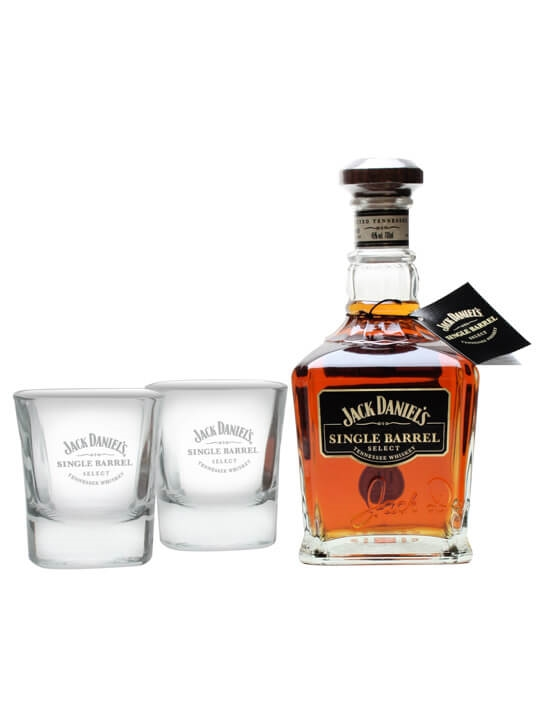 Jack Daniel's Single Barrel Gift Pack Single Barrel Tennessee Whiskey