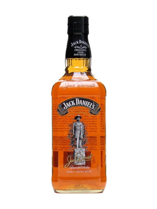 Jack Daniel's Oregon's 150th Birthday Tennessee Whiskey