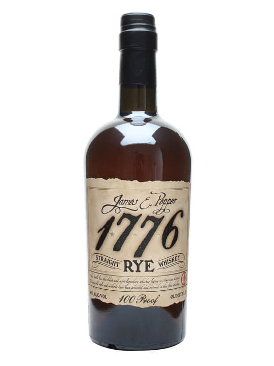 James E Pepper 1776 100 Proof Rye Straight Rye Whiskey
