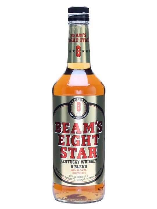 Beam's 8 Star Kentucky Whiskey Kentucky Straight Bourbon Whiskey