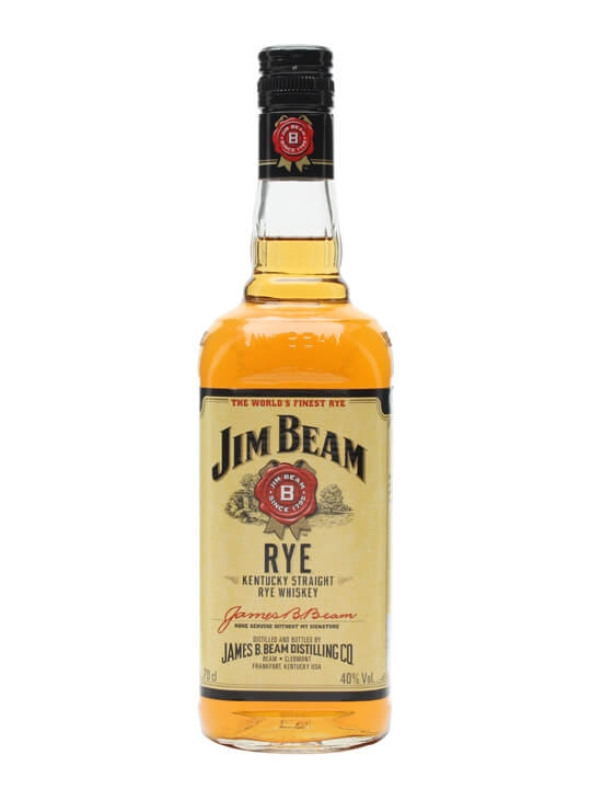 Jim Beam Rye Straight Rye Whiskey