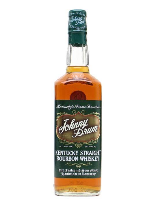Johnny Drum Green Label Kentucky Straight Bourbon Whiskey