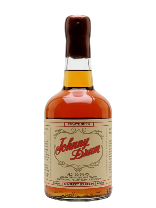 Johnny Drum Private Stock Kentucky Straight Bourbon Whiskey