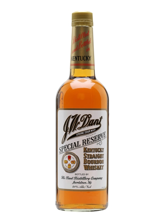 J W Dant / Special Reserve Kentucky Straight Bourbon Whiskey
