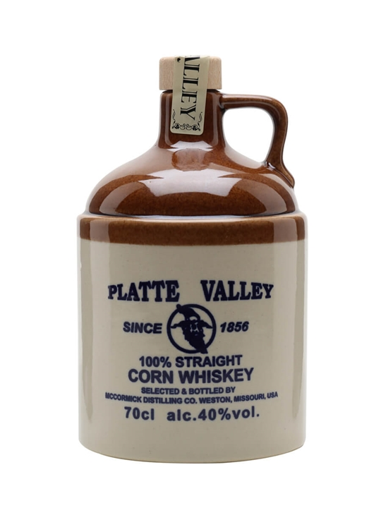 Platte Valley 3 Year Old Straight Corn Whiskey