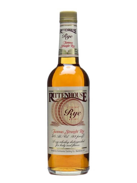 Rittenhouse Straight Rye Straight Rye Whiskey