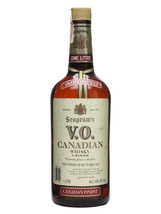 Seagram's Vo Canadian Whisky / Bot.1987