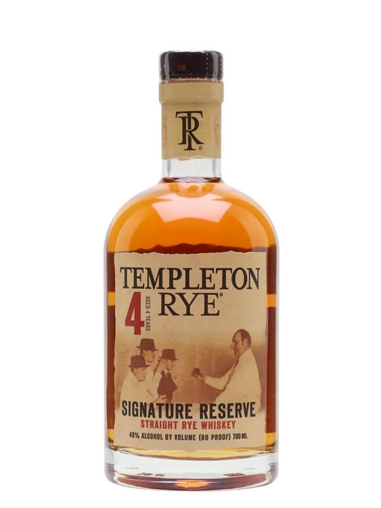 Templeton Rye Straight Rye Whiskey