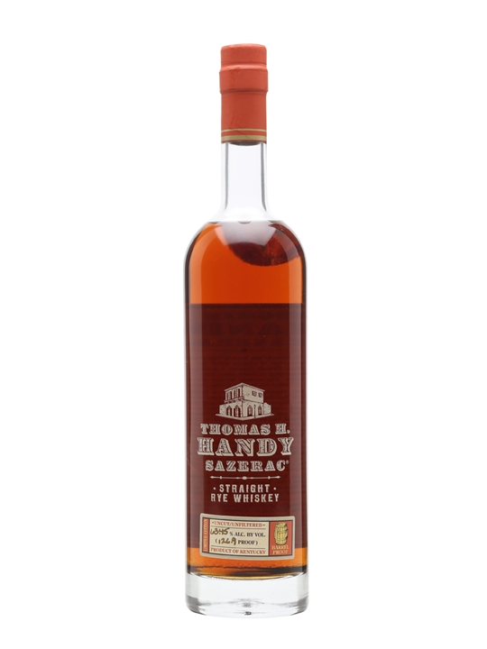 Thomas H Handy Sazerac / Bot.2010 Straight Rye Whiskey
