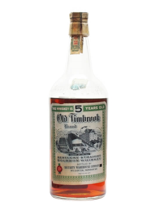 Old Timbrook 5 Year Old / Bot.1943 Kentucky Straight Bourbon Whiskey