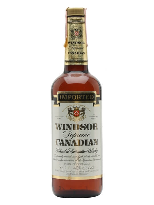 Windsor Canadian Whisky : Buy Online - The Whisky Exchange