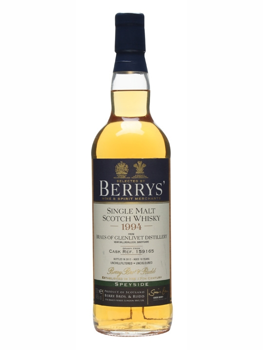 Braes Of Glenlivet 1994 / 18 Years Old / Cask #159165 Speyside Whisky