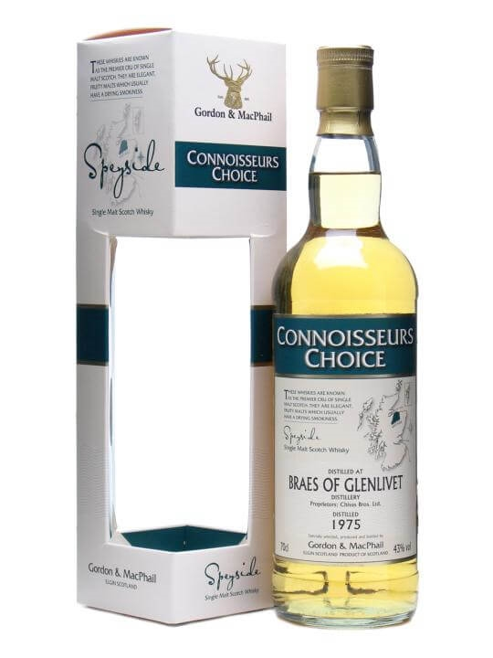 Braes Of Glenlivet 1975 / Connoisseurs Choice Speyside Whisky