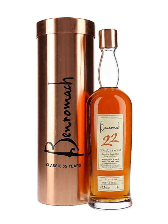 Benromach 1949 / 55 Year Old Speyside Single Malt Scotch Whisky