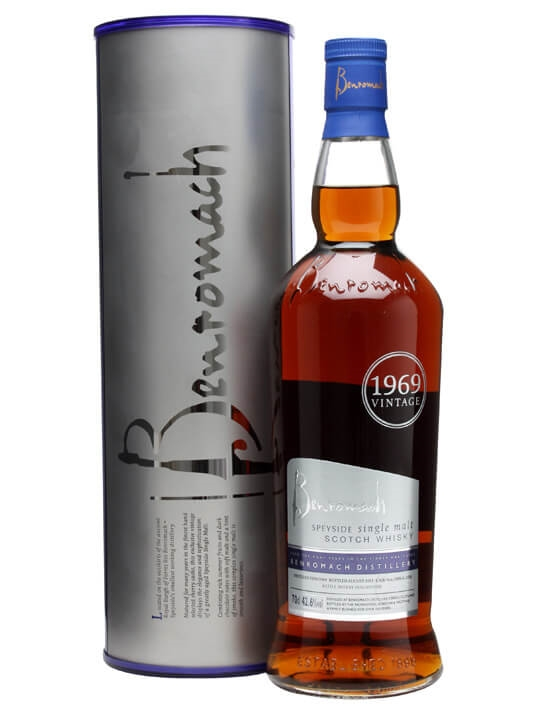 Benromach 1969 / 42 Year Old / Refill Sherry Speyside Whisky