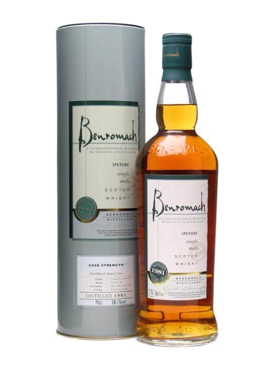 Benromach 1981 Speyside Single Malt Scotch Whisky