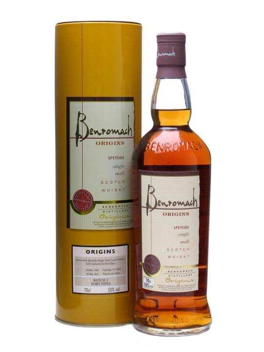 Benromach 1999 / Origins Batch 2 / Port Pipes Speyside Whisky