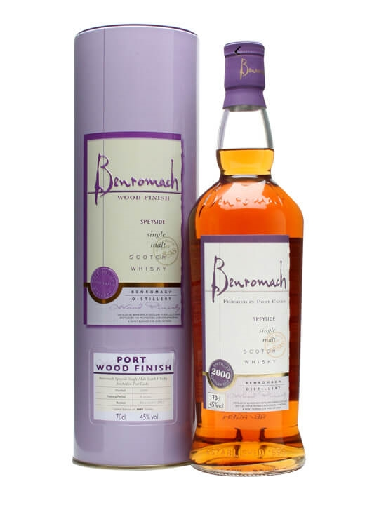 Benromach 2000 / Port Wood Finish Speyside Single Malt Scotch Whisky