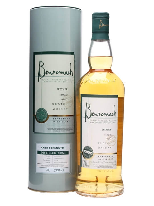Benromach 2002 / Cask #32-34 Speyside Single Malt Scotch Whisky
