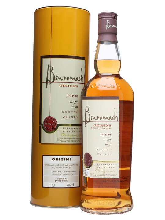 Benromach 2003 / Origins 4 / Port Pipes Speyside Whisky