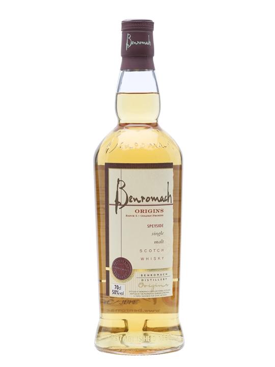 Benromach 2005 / Origins 5 / Golden Promise / Sherry Casks Speyside Whisky