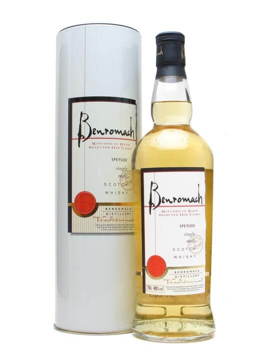 Benromach Traditional Speyside Single Malt Scotch Whisky