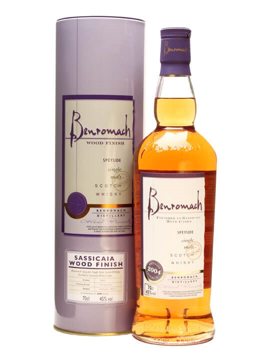 Benromach / Sassicaia Wood Finish Speyside Single Malt Scotch Whisky