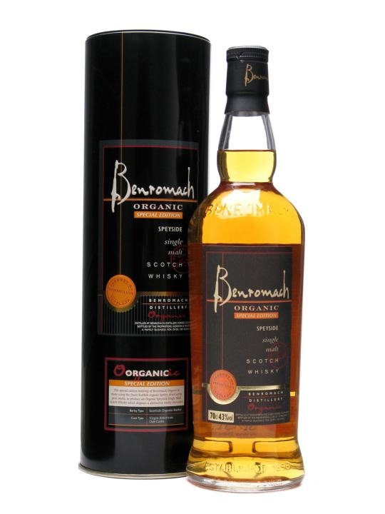 Benromach Organic Special Edition Speyside Single Malt Scotch Whisky
