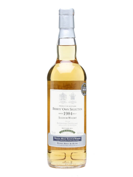 Benrinnes 1984 / Berry Bros & Rudd Speyside Single Malt Scotch Whisky