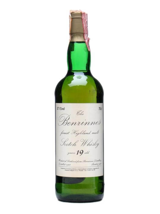 Benrinnes 1968 / 19 Year Old Speyside Single Malt Scotch Whisky
