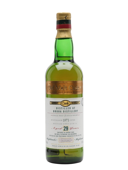 Brora 1971 / 29 Year Old / Sherry Cask / Douglas Laing Highland Whisky