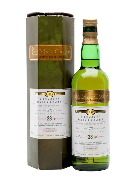 Brora 1971 / 28 Year Old / Old Malt Cask Highland Whisky