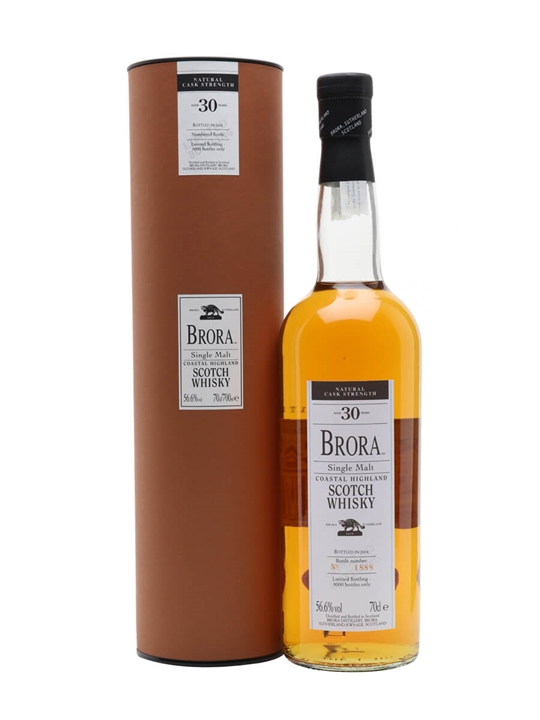 Brora 30 Year Old / Bot.2004 Highland Single Malt Scotch Whisky