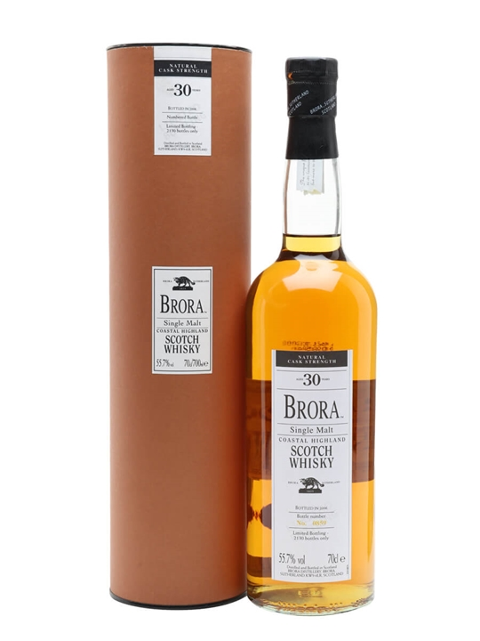 Brora 30 Year Old / 5th Release / Bot.2006 Highland Whisky