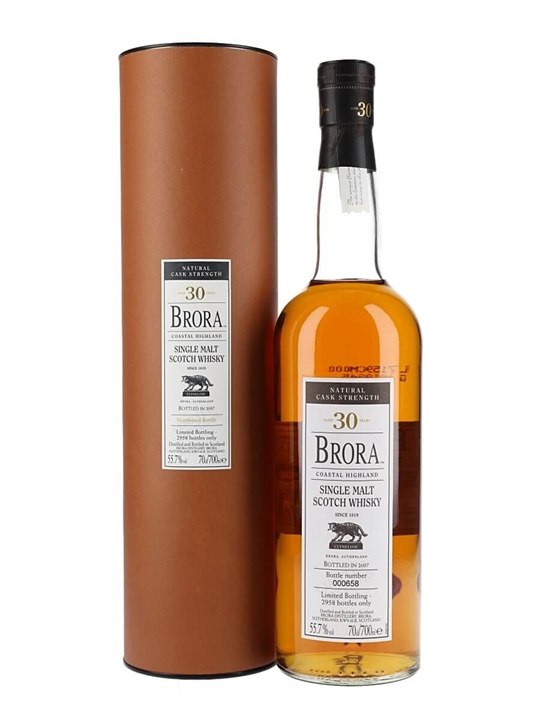 Brora 30 Year Old / Bot.2007 Highland Single Malt Scotch Whisky