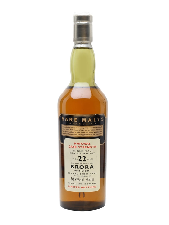 Brora 1972 / 22 Year Old Highland Single Malt Scotch Whisky