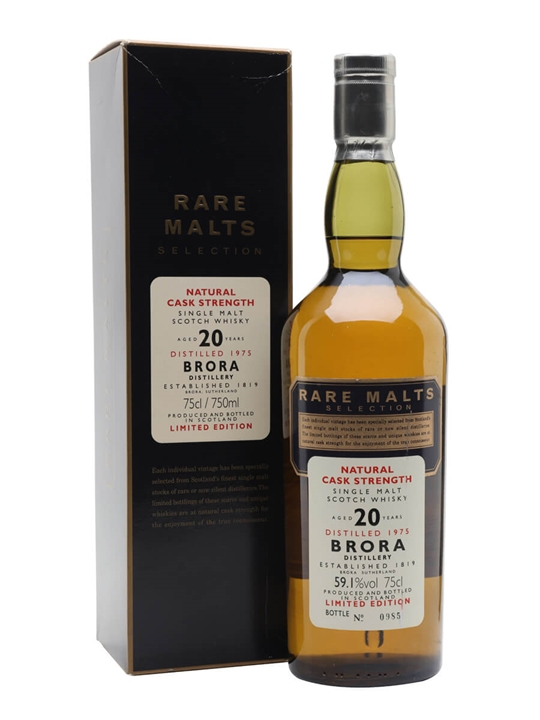 Brora 1975 / 20 Year Old Highland Single Malt Scotch Whisky