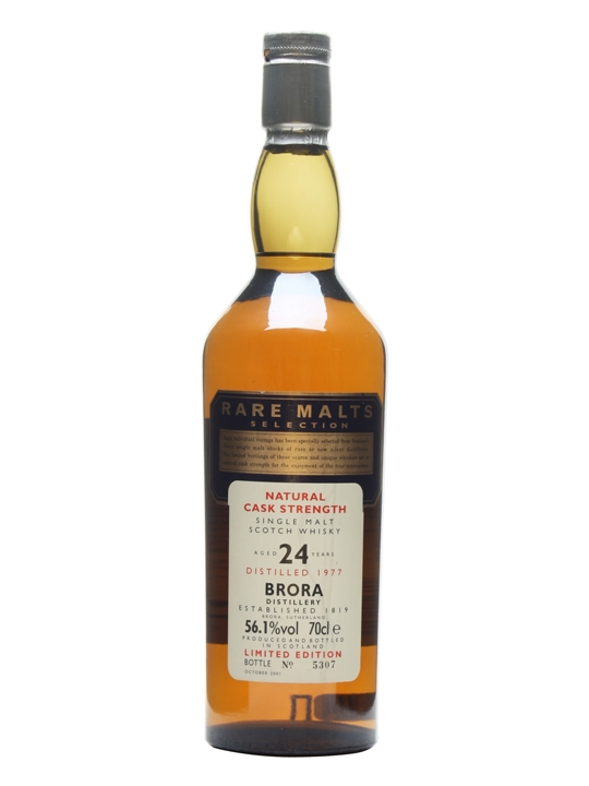 Brora 1977 / 24 Year Old / Rare Malts Highland Whisky