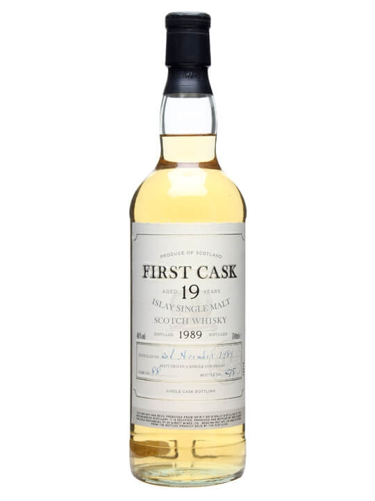 Bruichladdich 1989 / 19 Year Old / Cask #88 Islay Whisky
