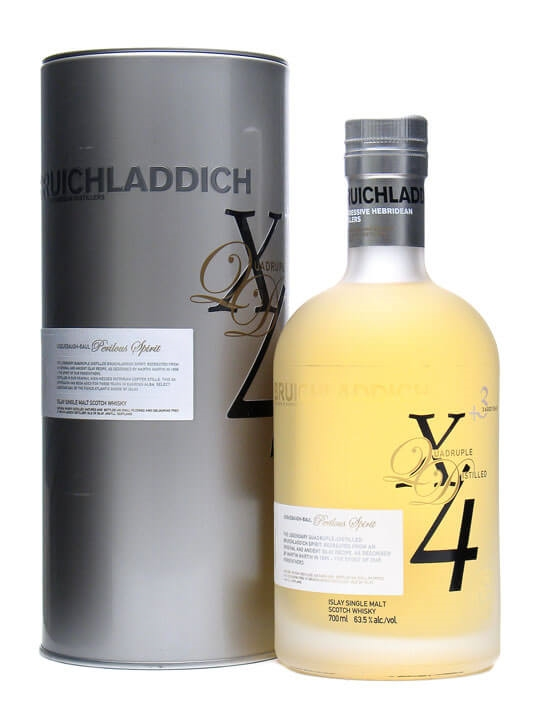 Bruichladdich X4+3 / 3 Year Old Islay Single Malt Scotch Whisky