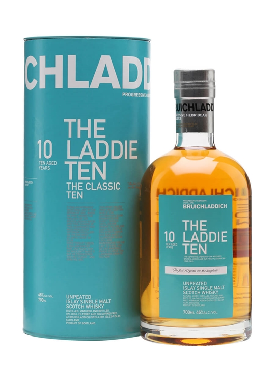 Bruichladdich 10 Year Old / The Laddie Ten Islay Whisky
