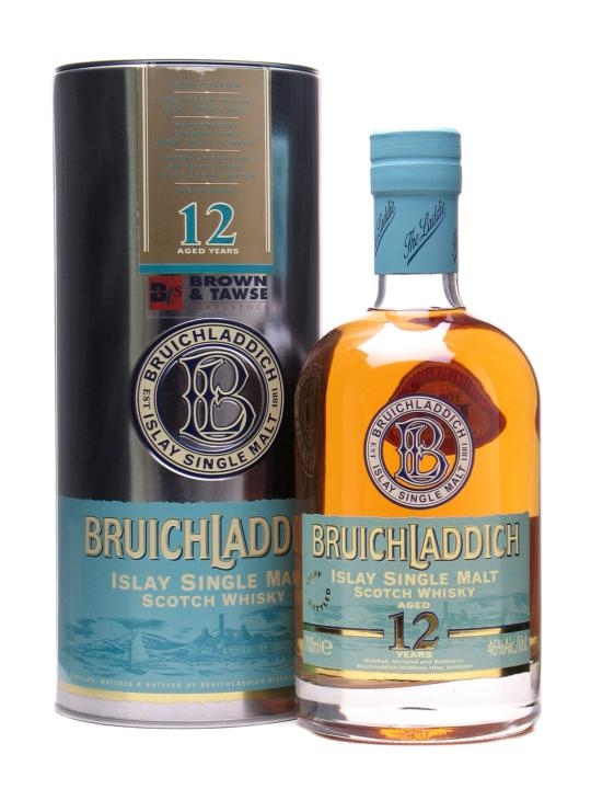 Bruichladdich 12 Year Old / Brown & Tawse 125th Anniversary Islay Whisky