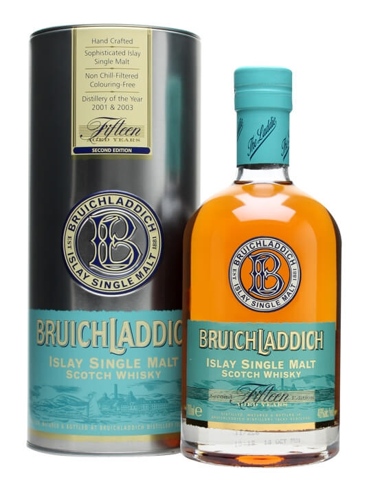 Bruichladdich 15 Year Old / 2nd Edition Islay Whisky