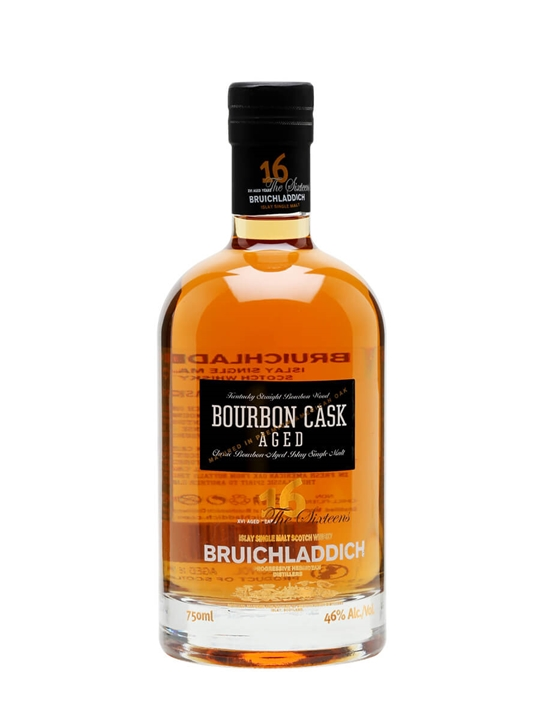 Bruichladdich 16 Year Old / Bourbon Cask Islay Whisky